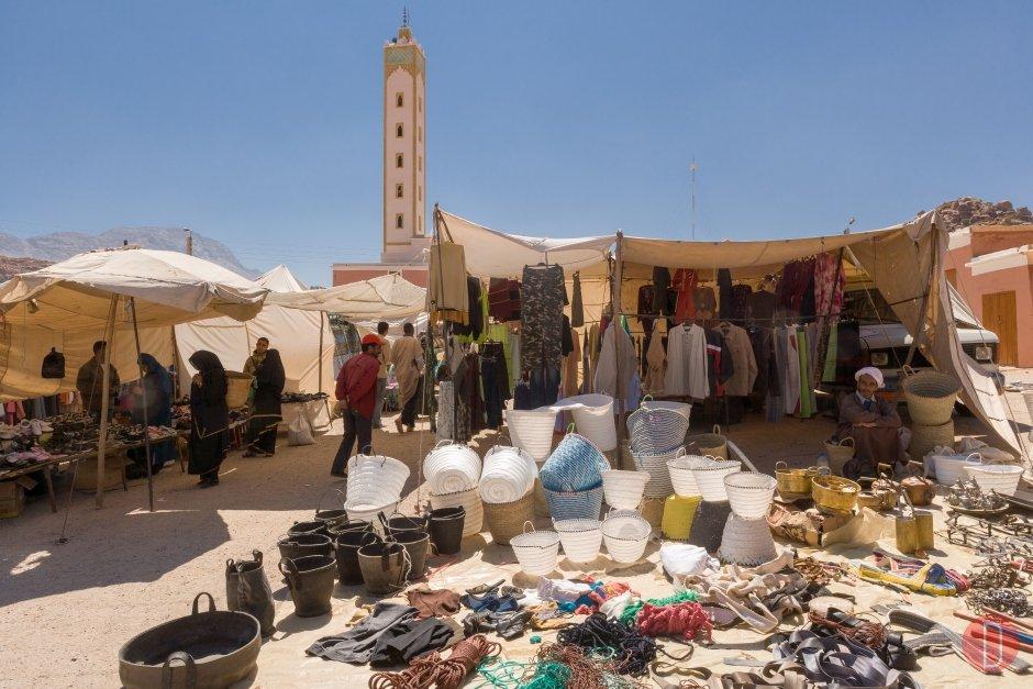 Tafraout Market