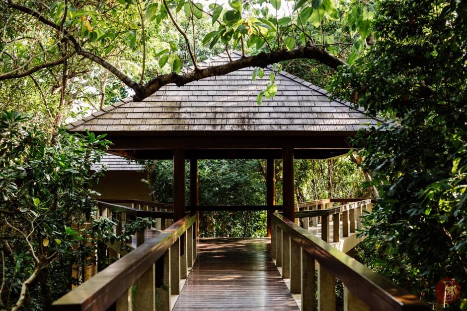 Amanpulo, Philippines – Accommodation, Treetop Casita, Bridge