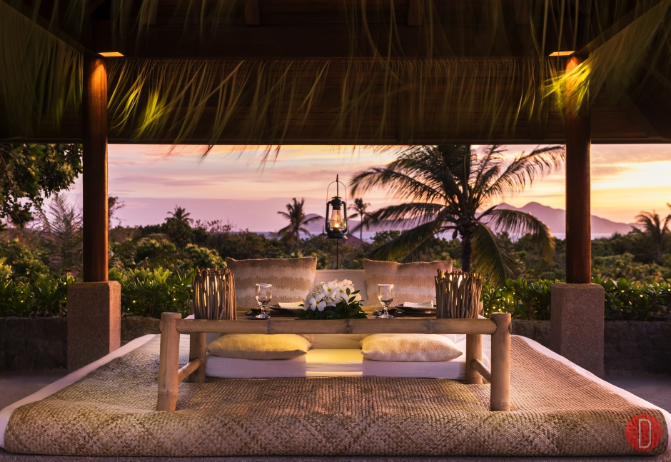Amanpulo, Philippines – Clubhouse Restaurant, Sala Dining Set-Up