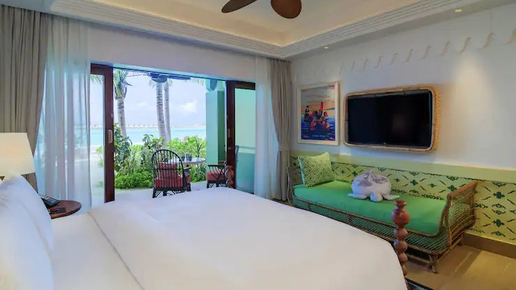 Saai Beach King Room