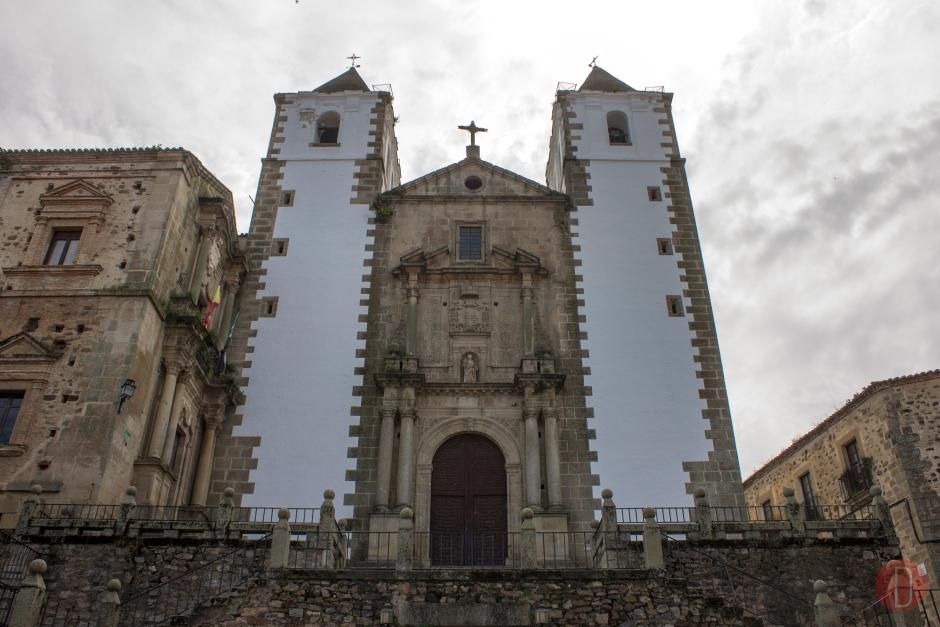 Cáceres Iglesia de San Francisco Javier