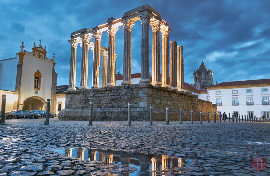 Evora Tempio di Diana