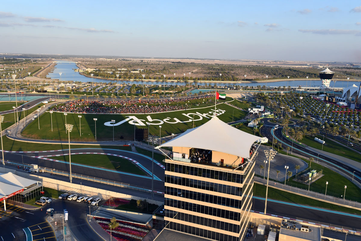 Yas Marina Track,Abu,Dhabi
