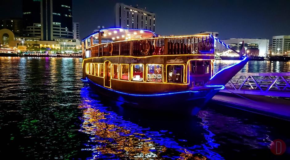 Dhow,Cruise,Dinner,Dubai