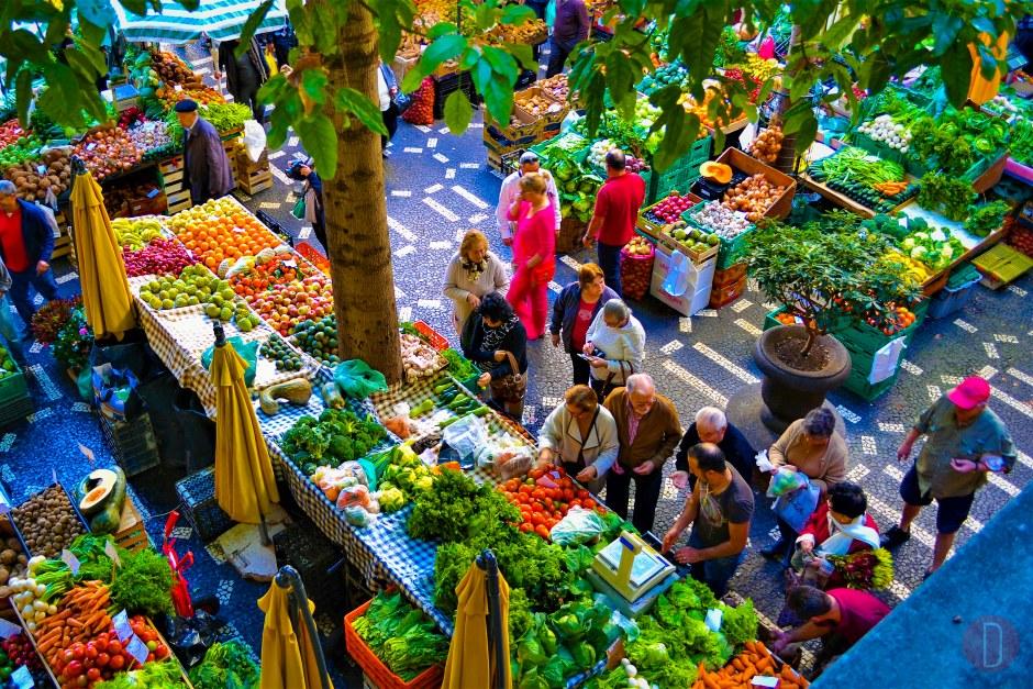 Funchal,,Madeira mercado