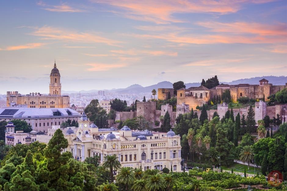 Malaga cittadella di Alcazaba