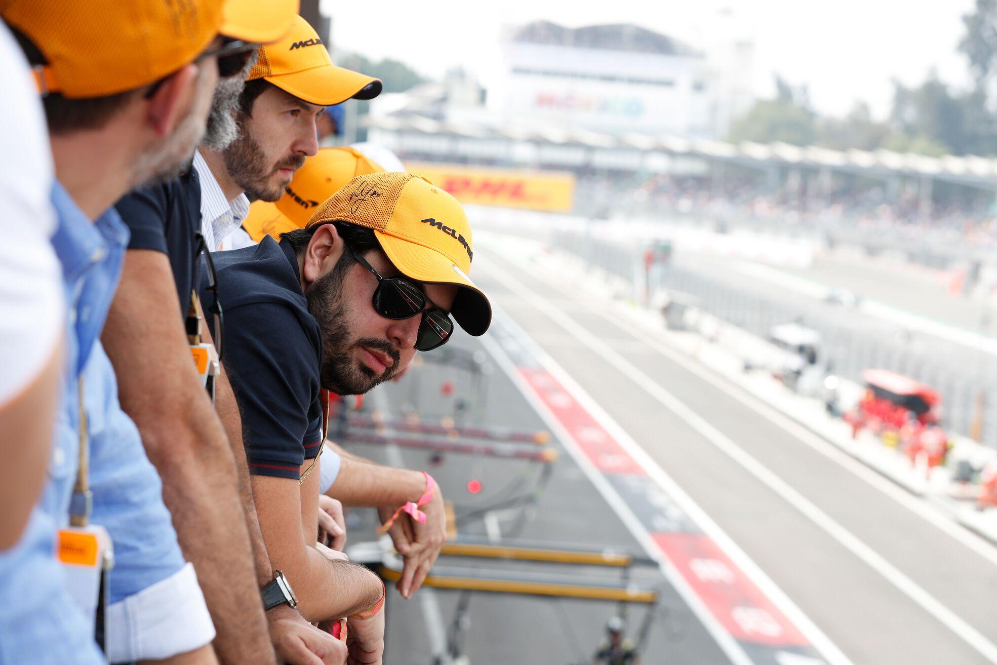 McLaren Paddock view
