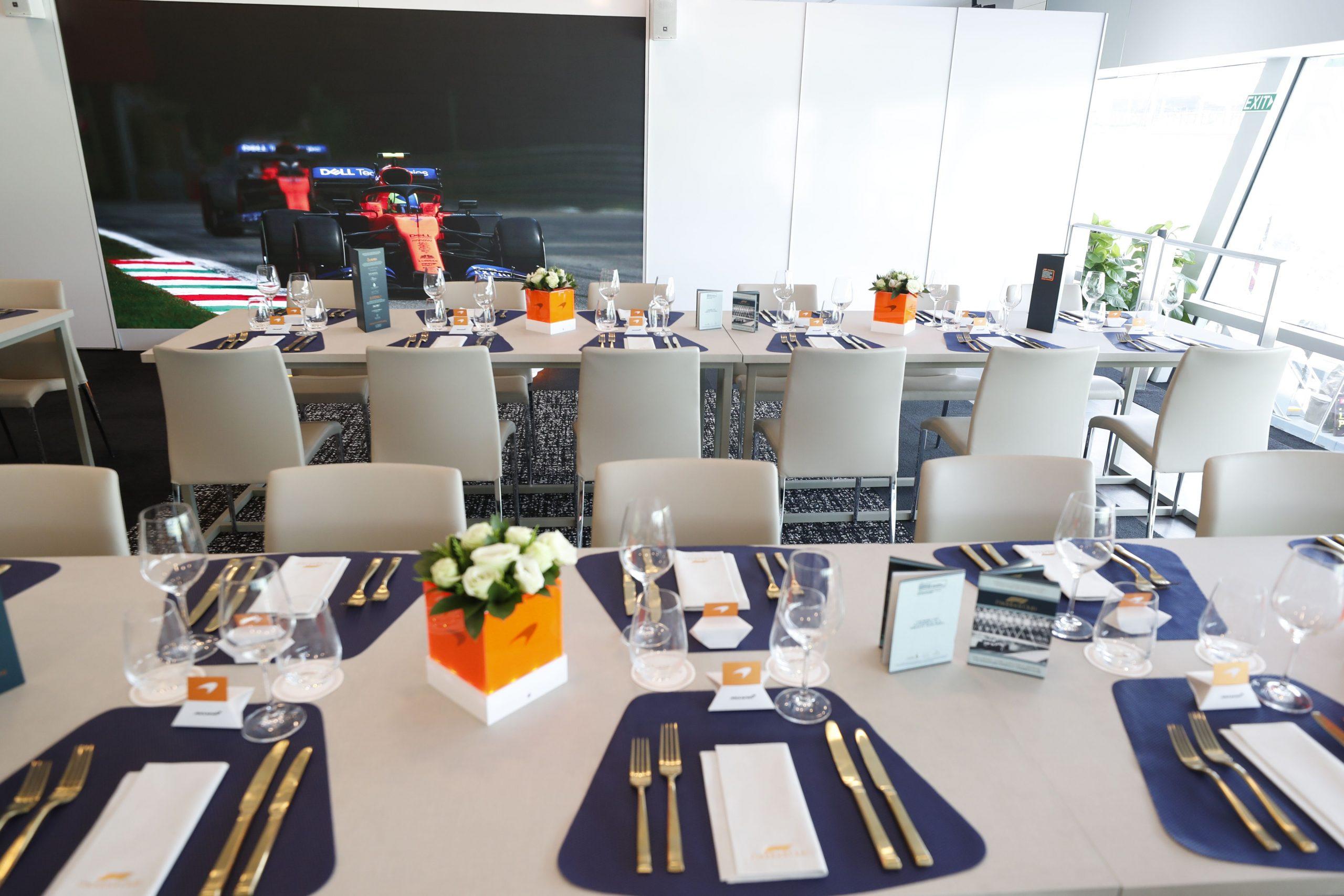Paddock Club-McLaren