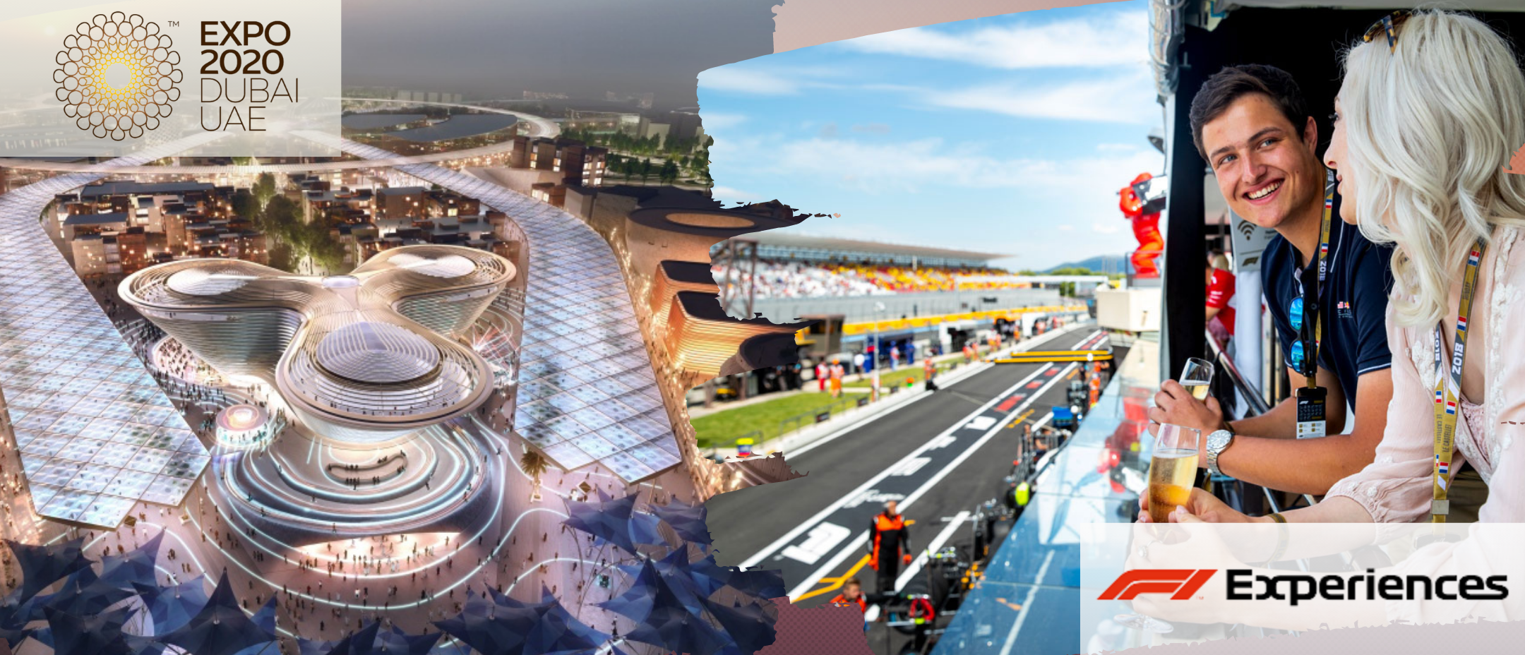 Tour Emirati Expo + F1 Experience