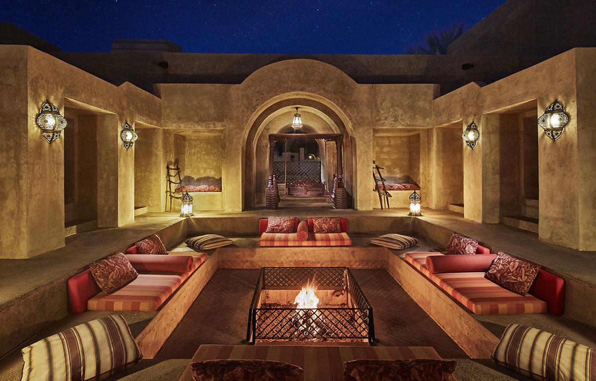 Bab Al Shams Firepit