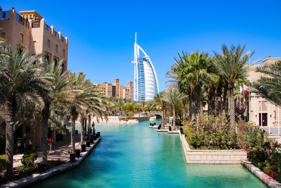 Dubai Burj Al Arab da Madinat Jumeirah,
