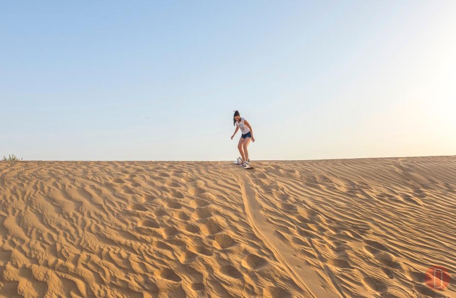 Dubai Sand,Boarding