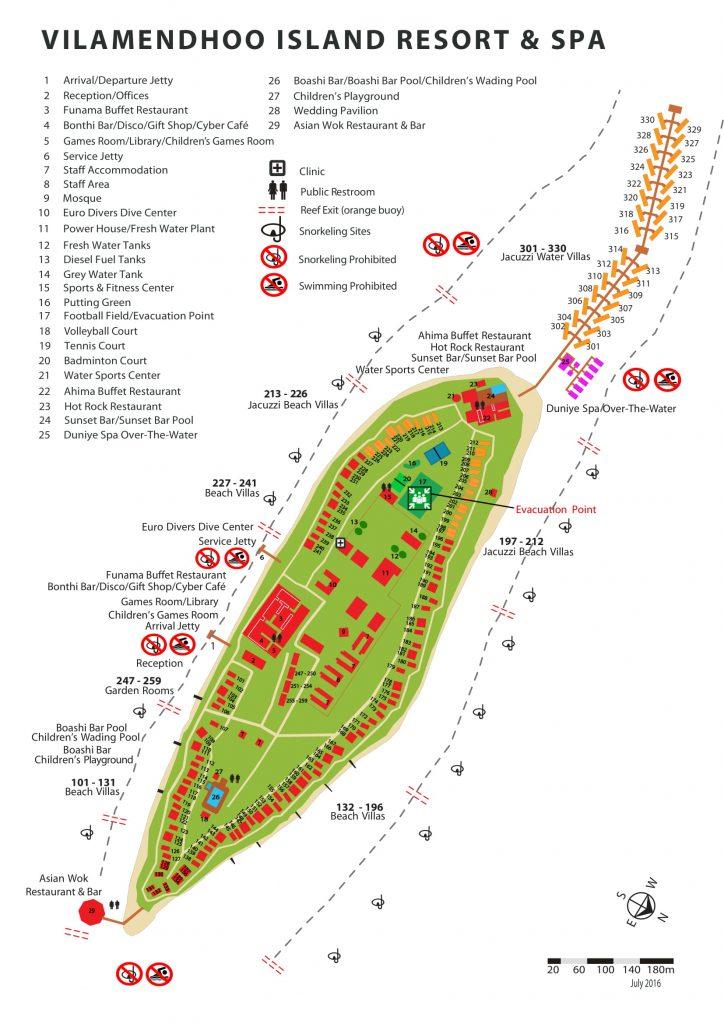 Vilamendhoo Map