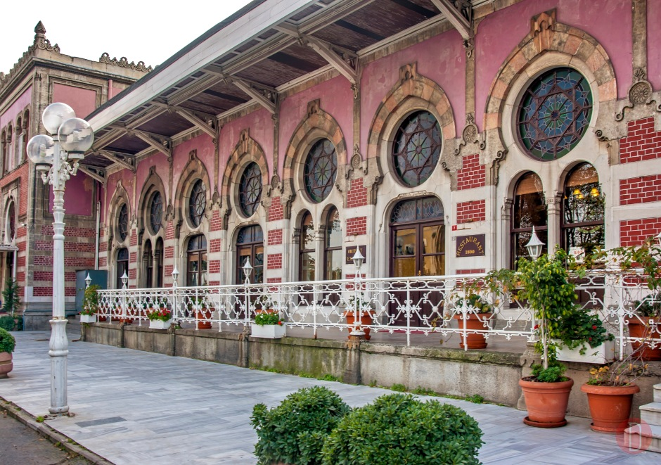 Istanbul Sirkeci Train,Staition
