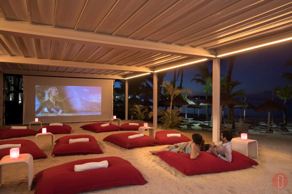 LUX Belle Mare Cinema Paradiso